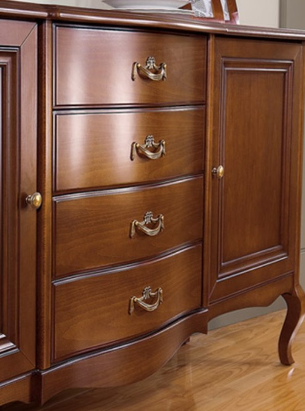 wohnzimmer set vitrine rtv couchtisch kommode klassische italienische stil m bel ebay. Black Bedroom Furniture Sets. Home Design Ideas